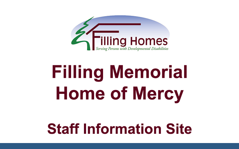 Filling Homes Staff Info